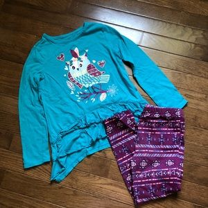 Faded Glory Girls owl outfit